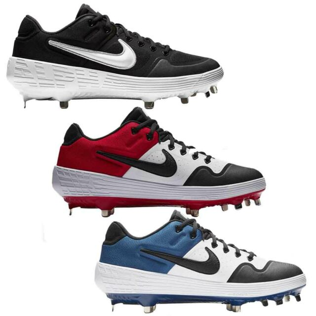 Nike Baseball Cleats 11.5 Red Huarache 2k Filth Elite Low Metal .