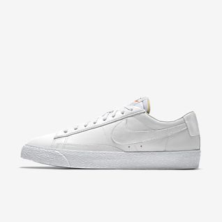 White Blazer Shoes. Nike.c