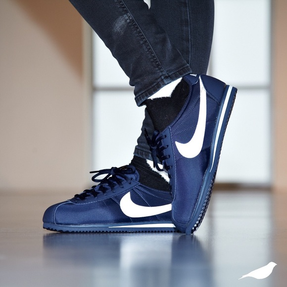 Nike Shoes | Cortez Nylon Navy Blue | Poshma