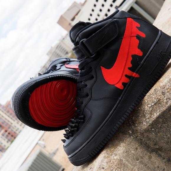 Nike Shoes | New Air Force 1 Custom Bloody Shoe | Poshma