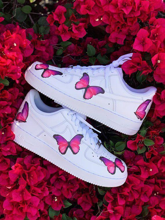 Nike Shoes, Custom Nike, Butterfly Shoes, Custom Shoes, Custom .