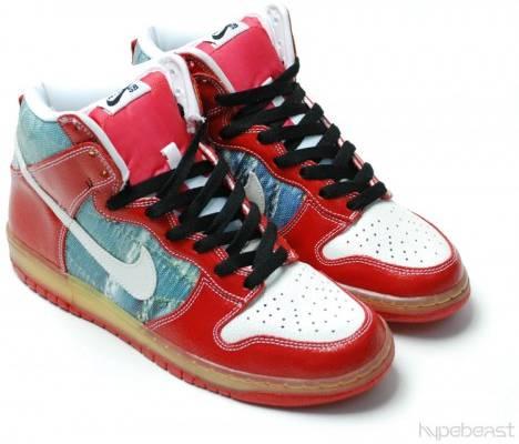 Dunk High Premium SB 'Shoe Goo' - Nike - 313171 012 | GO