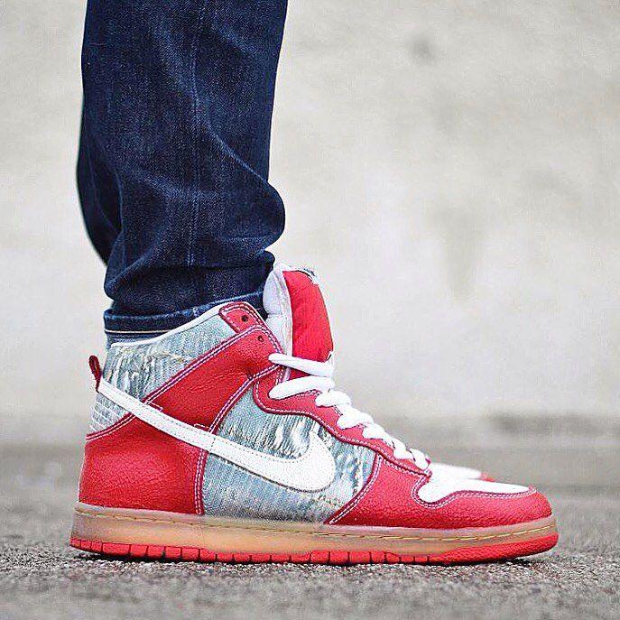 "Nike Dunk High Premium SB ""Shoe Goo"" | Shoe goo, Nike dunk high ."