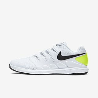 Men's White Tennis Shoes. Nike