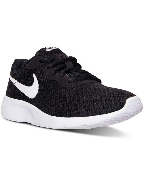 Nike Big Kids' Tanjun Casual Sneakers from Finish Line & Reviews .