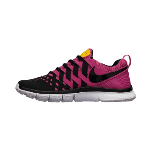 NIKE FREE TRAINER 5 0 MENS 579805 607 Running SHOES Black Pink .