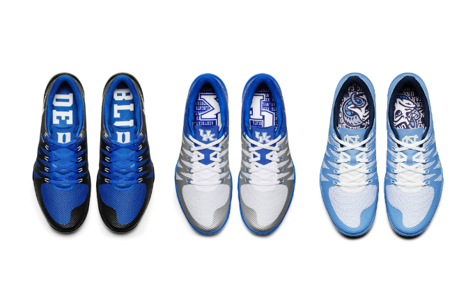 Nike Free Trainer 5.0 UNC Duke Kentucky - Sneaker Bar Detro