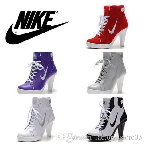 Nike Sports High Heel Womens Basketball Shoes Fashion Design Nike .