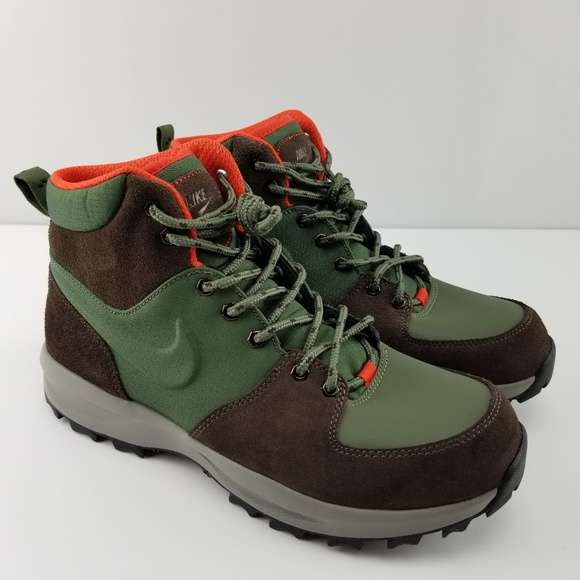 Nike Shoes | Manoa Acg Army Olive Hiking Boots Rare | Poshma