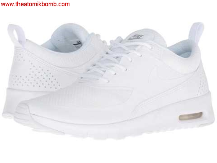 Nike Brand Store Nike Kids Air Max Thea (Big Kid) Shoes: White .
