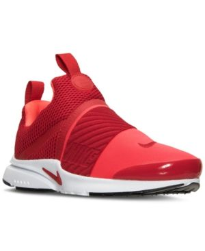Nike Boys' Presto Extreme Running Sneakers from Finish Line - Red .
