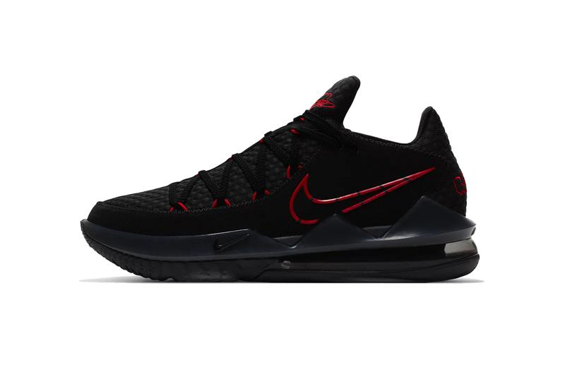 Nike LeBron 17 Black/University Red Release Date | HYPEBEA