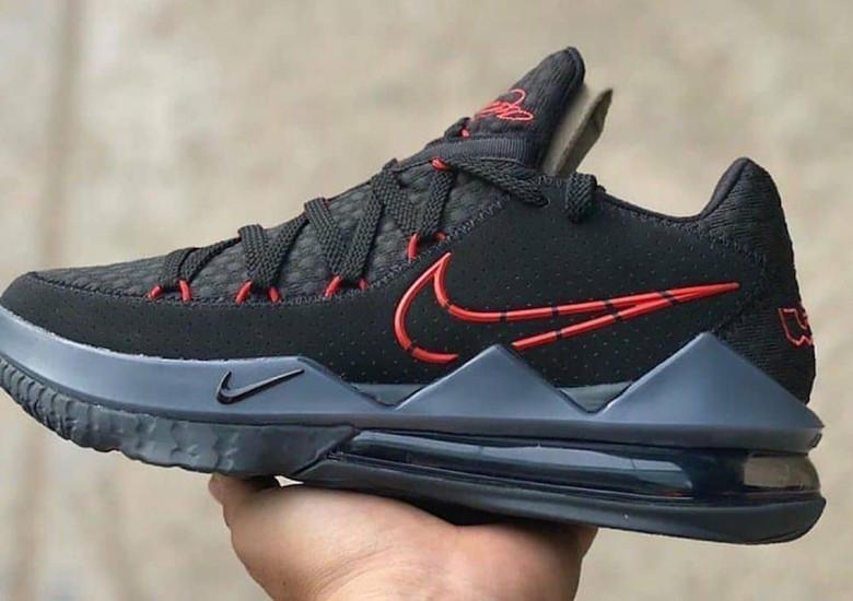 Nike LeBron 17 Low Black Red CD5007-001 Release Date | SneakerNews.c