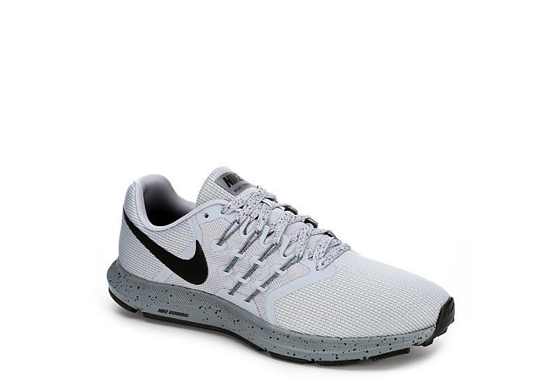 Grey Nike Men's Run Swift Trail Runner Athletic Sneakers | Rack .
