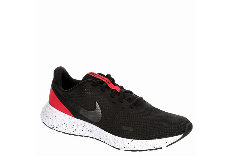 Black Nike Mens Revolution 5 | Athletic | Rack Room Sho