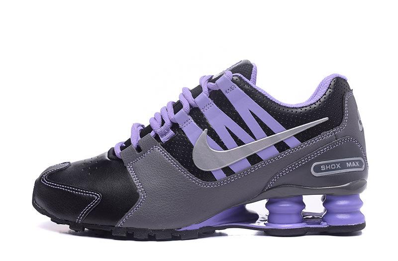Hot Selling Nike Shox Avenue Black Gray Purple Girls Women's .