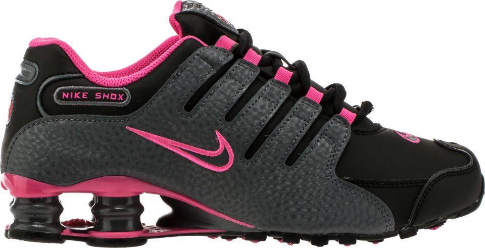 NEW NIKE SHOX NZ WOMENS Black Grey Pink Blast 636088 026 Limited .