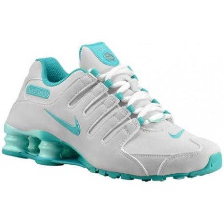 nike teal running shoes,Nike Shox NZ - Women's - Running - Shoes .