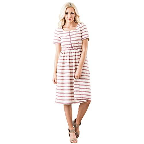 Nursing Friendly Dresses: Amazon.c