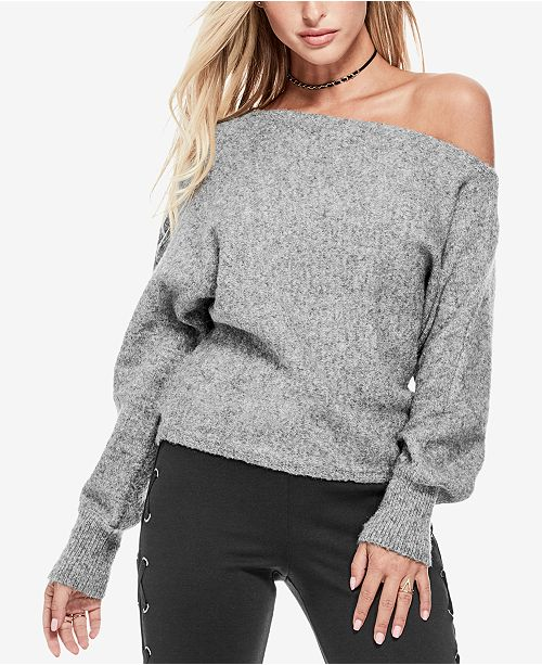 GUESS Catrina Off-The-Shoulder Sweater & Reviews - Sweaters .