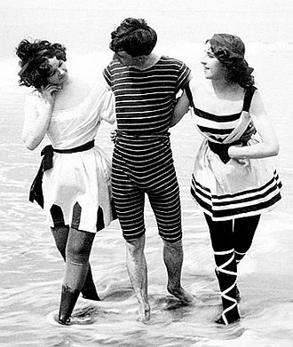 Old-Timey Bathing Suit - All The Trop