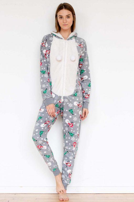 Snowman Christmas Onesie Pajamas - Ragsto