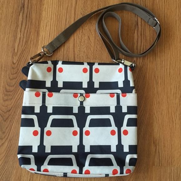 Orla Kiely Bags | For Target Large Cars Crossbody Bag | Poshma