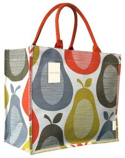 Mrs Peabod - A designers Inspiration board: Orla Kiely Charity Bag .