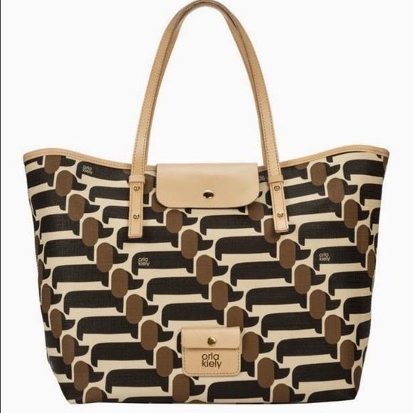 Orla Kiely Bags | Iso Bag With Dachshund Print Do Not Buy | Poshma
