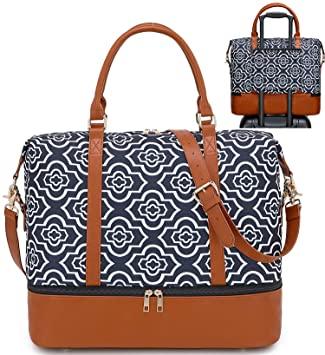 Amazon.com | Women Ladies Weekender Overnight Bag Travel Tote .
