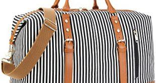 Amazon.com | CAMTOP Weekend Travel Bag Ladies Women Duffle Tote .