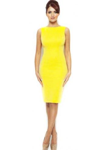 Bright Yellow Pencil Dresses – Fashion dress
