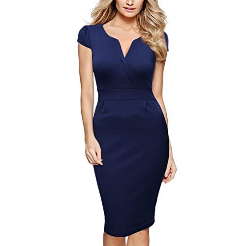 Blue Pencil Dresses: Amazon.c