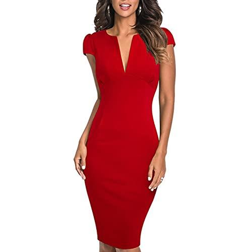 Vintage Red Pencil Dresses: Amazon.c