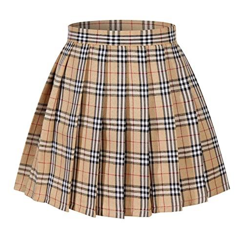 Plaid Skirt: Amazon.c