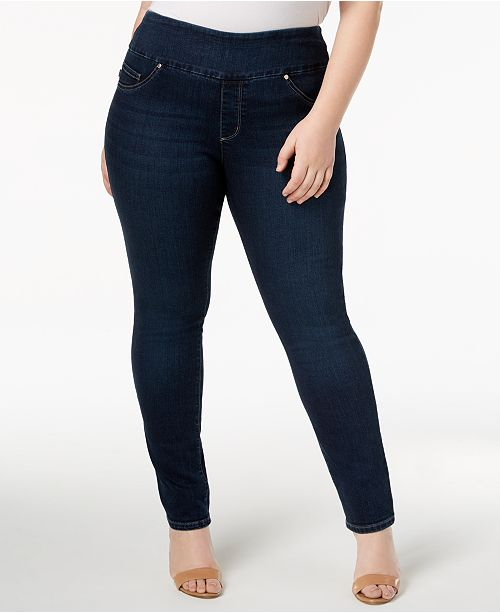Lee Plus Size Pull-On Skinny Jeans & Reviews - Jeans - Plus Sizes .