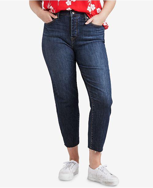 Levi's Trendy Plus Size High-Waist Skinny Wedgie Jeans & Reviews .