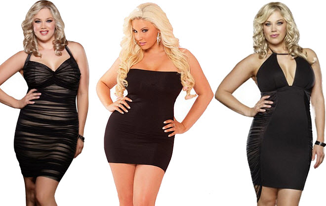Plus Size Sexy Fitted Dresses – Fashion dress