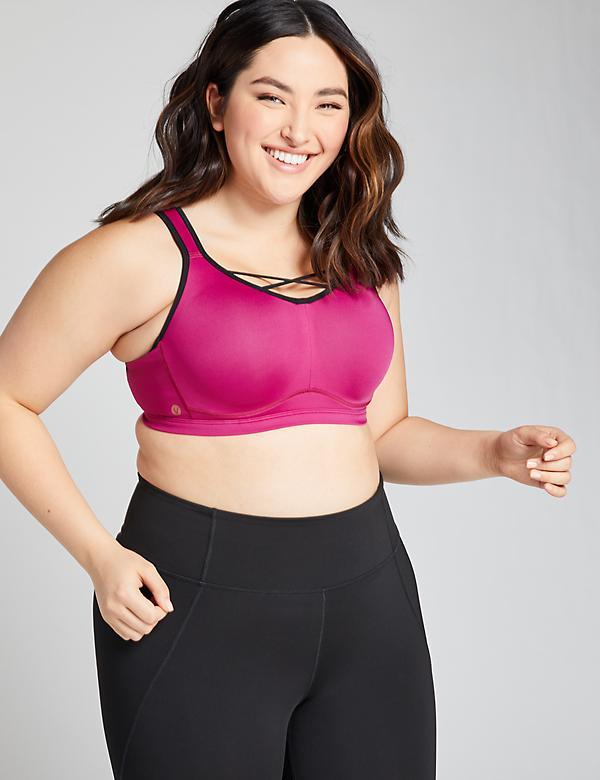 Size 40c Plus Size Supportive Sports Bras | Lane Brya