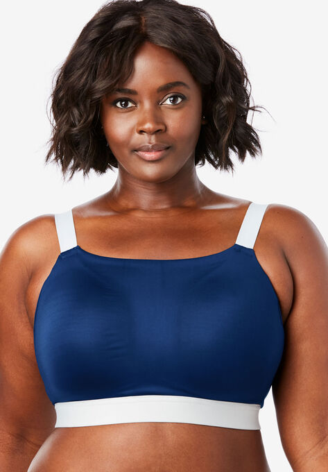Moderate-Impact Sport Bra by Comfort Choice®| Plus Size Sports .