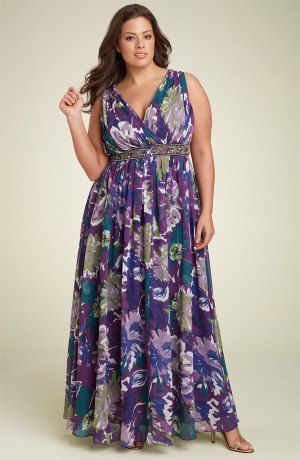 piniful.com plus size sundresses (24) #curvyplus | Plus size maxi .