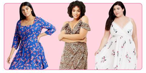 11 Plus Size Sundresses – Short Plus-Size Dresses for Summer 20