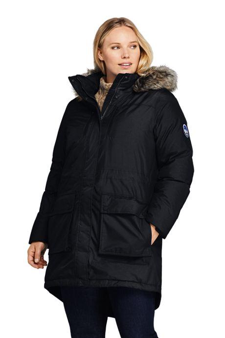 Plus Size Winter Coats, Plus Size Women's Winter Coats, Long Down .