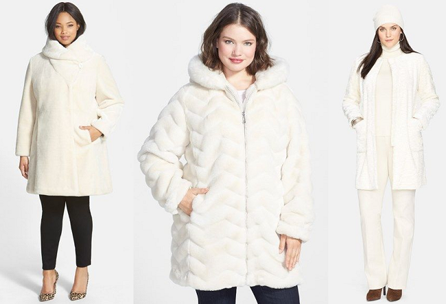Currently Craving: Plus Size Winter White Coats - Shapely Chic .