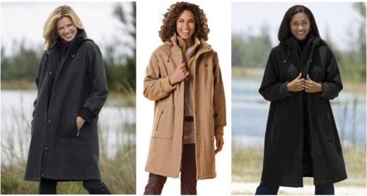 Plus Size Winter Coats to Warm Your Body | Sera-Fox.c
