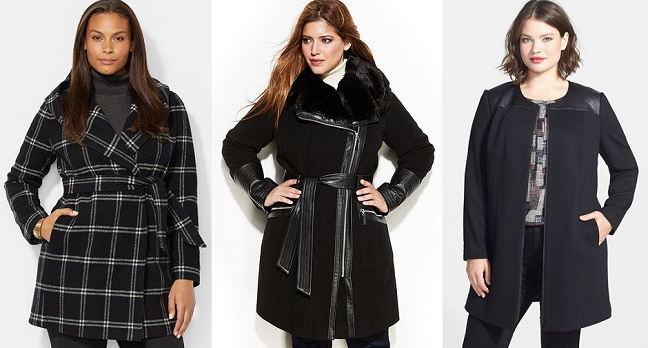 21 Plus Size Coats for Fall/Winter - Shapely Chic Sheri - Plus .