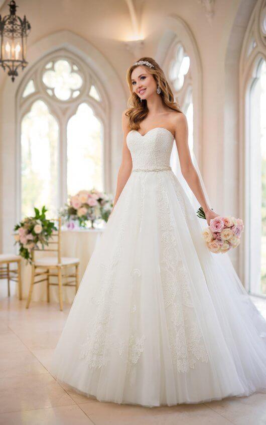Princess Wedding Dresses | Organza Princess Wedding Dress | Stella .