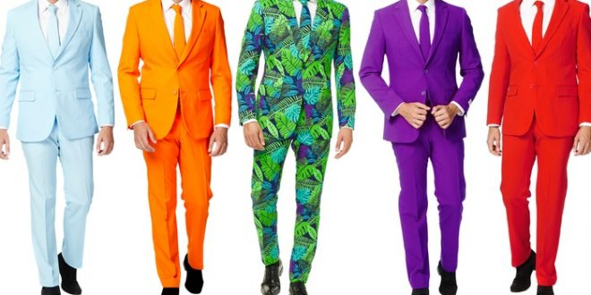Up To 24% Off on OppoSuits Men's Slim Fit Suits | Groupon Goo