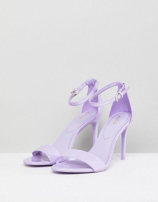High Heels 2018: Top 25 Trends & Styles | Purple high heels .