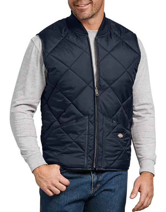 Quilted Nylon Vest for Men , Dark Navy 2XL   Dicki